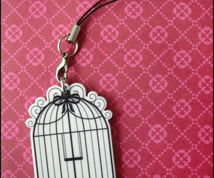 cage, pink, and cute image