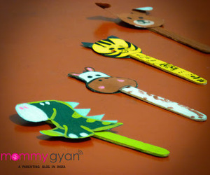 craft ideas, kids crafts, and popsicle stick craft image