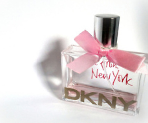 dkny, perfume, and pink image