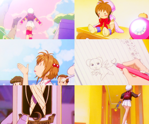 anime, card captor sakura, and kero image