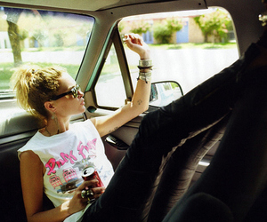 car, Erin Wasson, and style image