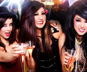 girls, party, and friends image