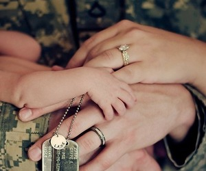 army, family, and married image