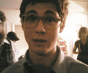 logan lerman, glasses, and logan image