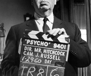 alfred hitchcock and Psycho image