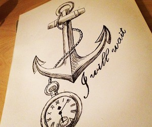 anchor, boyfriend, and girl image