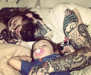 babys, bebes, and dad image