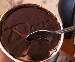 chocolate, food, and dove image