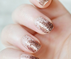 nails, glitter, and cool image