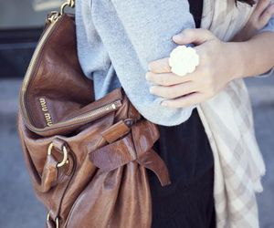 fashion, bag, and ring image