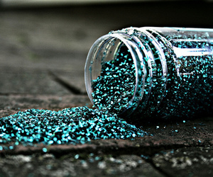 glitter, blue, and photography image