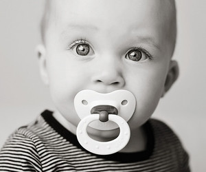 baby, 9months, and binky image