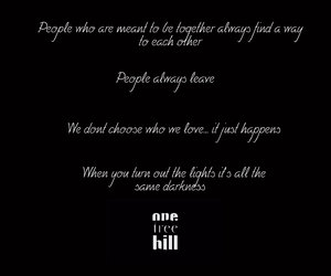 quote and one tree hill image
