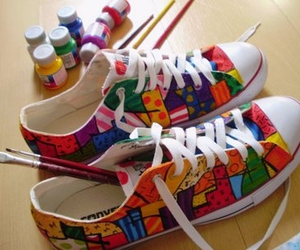 all star, colours, and painting image