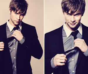 Chace Crawford, boy, and nate archibald image