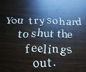 feelings, quote, and text image