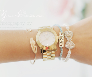 bracelets, gold, and armcandy image