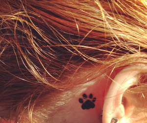 tattoo and paw print image