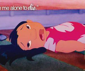 lilo, alone, and die image