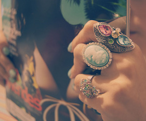 fashion, rings, and jewellery image