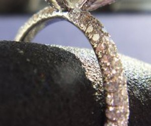 ring, daimond, and sparkle image