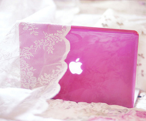 pink, apple, and photography image