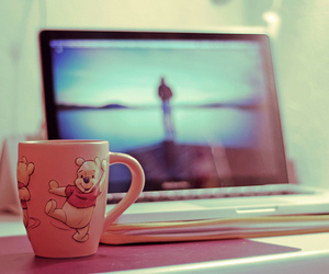 mug, pooh, and cup image