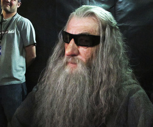 about me, ian mckellen, and the hobbit image