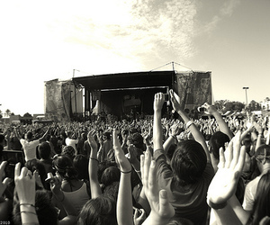 concert, crowd, and festival image