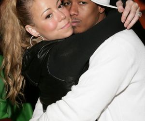 blond, ponytail, and nick cannon image