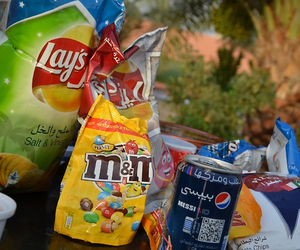 chips and junk food image