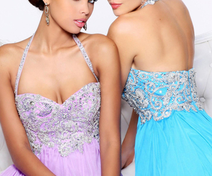 dress, dresses, and gown image