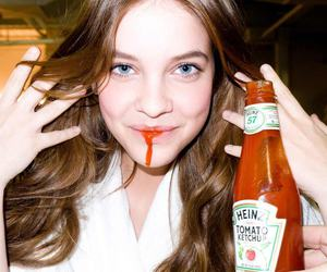barbara palvin, ketchup, and model image
