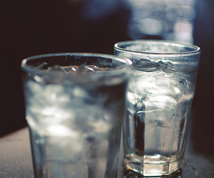 ice, water, and drink image