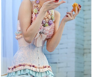pastel, corset, and sexy image