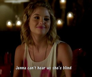 pretty little liars, pll, and blind image