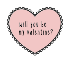 heart, pink, and valentine image