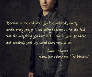 ian somerhalder, tvd, and quotes image