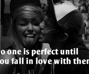 black and white, quote, and cute image