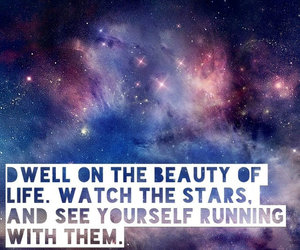 beautiful, outer space, and quote image