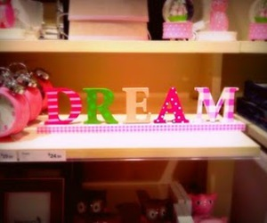 Dream, pink, and cute image