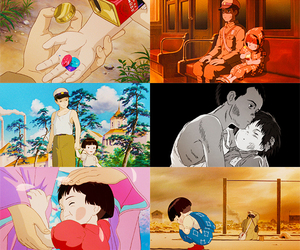 grave of the fireflies, pretty, and sad image