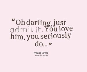 love, darling, and him image