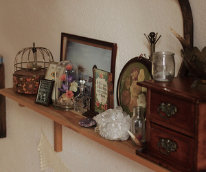 room, decoration, and shelf image