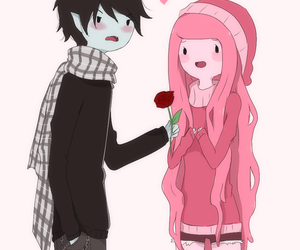 adventure time, marshall lee, and rose image