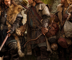 the hobbit, richard armitage, and aidan turner image