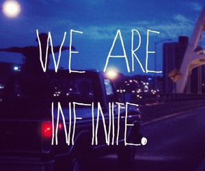 infinite, quote, and movie image