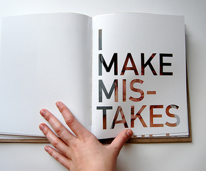 mistakes, book, and photography image