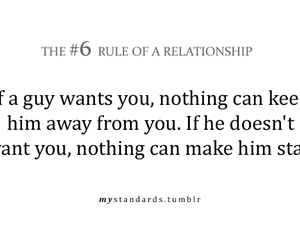 Relationship, quote, and rules image