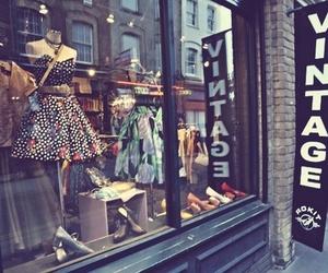 vintage, shop, and dress image